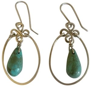 🇨🇦 Sterling silver 925 earrings with turquoise